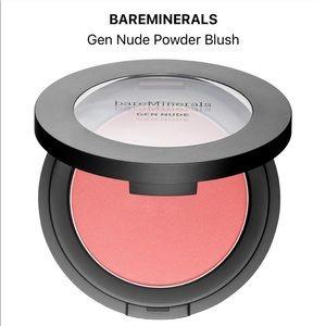 BNIB bare minerals blush